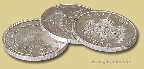 gamle mynter til salgs