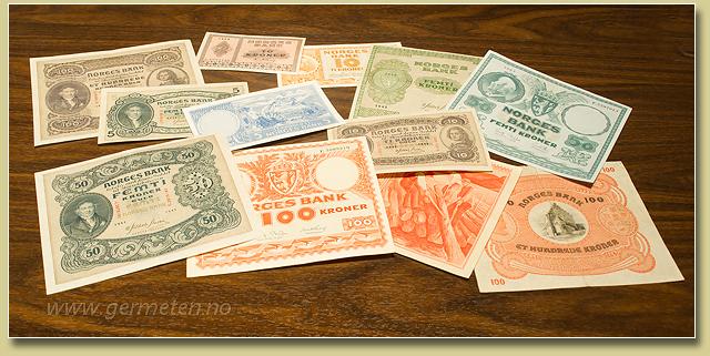 norske penger til dollar